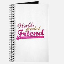 Worlds Greatest Friend Journal