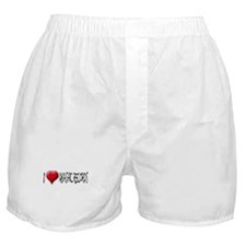 I Love (Heart) Akashic Record Boxer Shorts