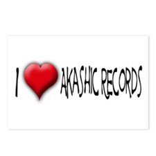 I Love (Heart) Akashic Record Postcards (Package o