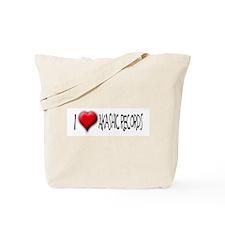 I Love (Heart) Akashic Record Tote Bag