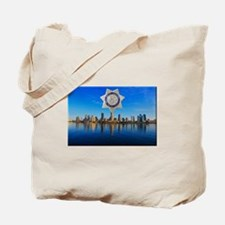 San Diego Sheriff Skyline Tote Bag