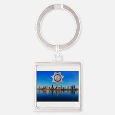 San Diego Sheriff Skyline Keychains