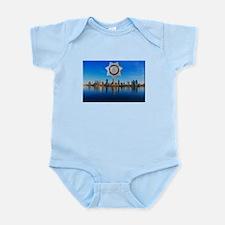 San Diego Sheriff Skyline Body Suit
