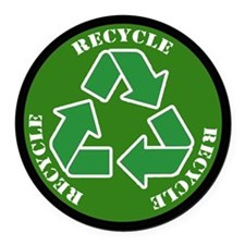 Recycle Car Magnet