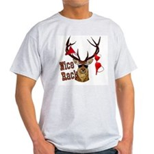 Bubba Deer Collection Ash Grey T-Shirt