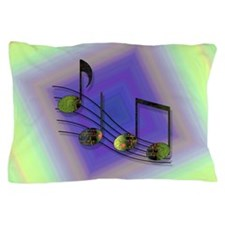 Dubstep Notes Pillow Case