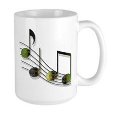Dubstep Notes Mug
