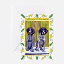 German Shorthaired Pointer Christmas Greeting Card