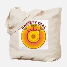 Anxiety Dial on High Tote Bag