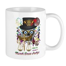 Mardi Gras Judge 1 Small Mugs
