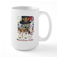 Mardi Gras Judge 1 Ceramic Mugs