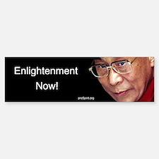 Enlightenment Now! - Bumper Bumper Bumper Sticker