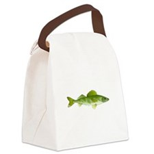 walleye f Canvas Lunch Bag