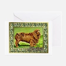 Sussex Spaniel Dog Christmas Greeting Card