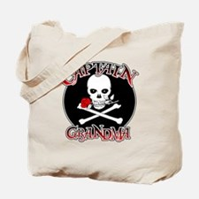 Captain Grandma Tote Bag