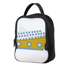 cruise ship Neoprene Lunch Bag