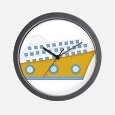 cruise ship Wall Clock