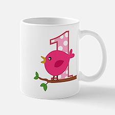 First Birthday Birdie Mug