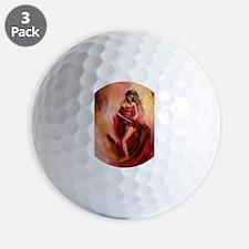 the red dress Golf Ball