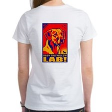 Obey the Yellow Lab! Tee