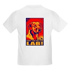 Obey the Yellow Lab! 06 Kids T-Shirt