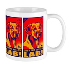 Obey the Yellow Lab! 06 Coffee Mug