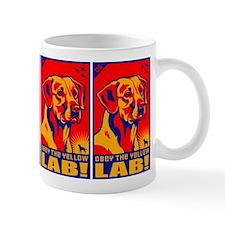 Obey the Yellow Lab! 06 Coffee Small Mug