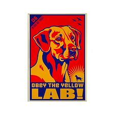 Obey the Yellow Lab! 06 Propaganda Magnet