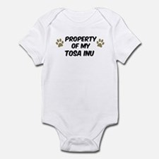 Tosa Inu: Property of Infant Bodysuit