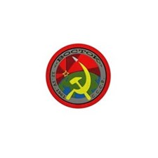 Commemorative First Man in Space Patch Mini Button