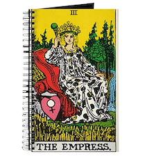 THE EMPRESS TAROT CARD Journal