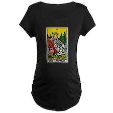 THE EMPRESS TAROT CARD Maternity T-Shirt