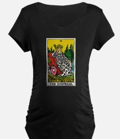 THE EMPRESS TAROT CARD Maternity T-Shirt
