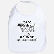 Jungle-curl Cat Designs Bib