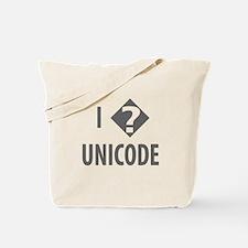I Love Unicode Tote Bag