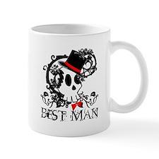Skull Best Man Mug