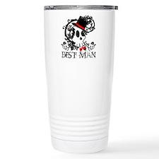 Skull Best Man Travel Mug