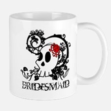 Skull Bridesmaid Mug