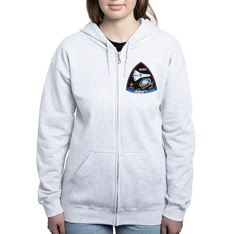 STS-35 Astro 1 Women's Zip Hoodie