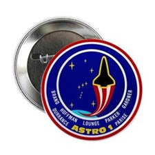 """STS-35 Columbia 2.25"""" Button"""