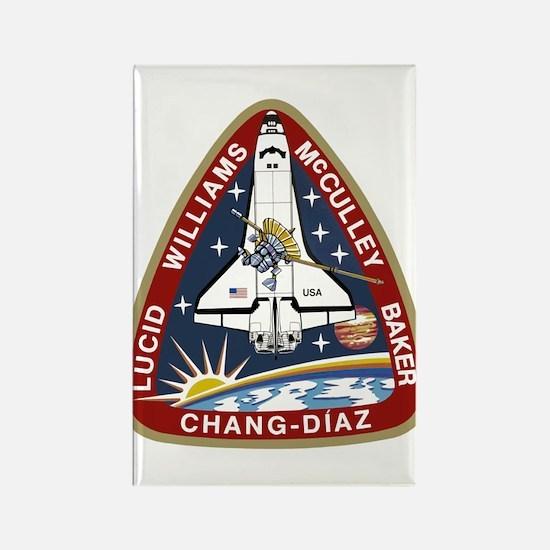 STS-34 Atlantis Rectangle Magnet