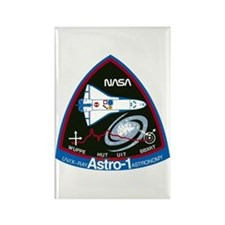 STS-35 Astro 1 Rectangle Magnet