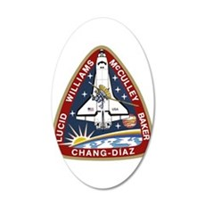 STS-34 Atlantis Wall Decal