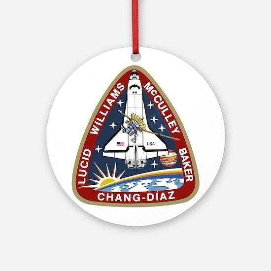 STS-34 Atlantis Ornament (Round)