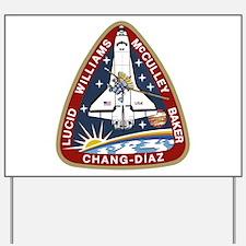 STS-34 Atlantis Yard Sign