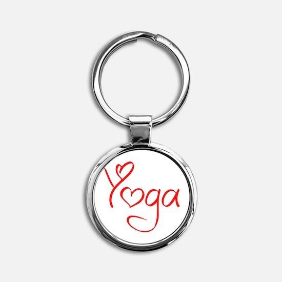 yoga-jel-red Keychains