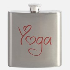 yoga-jel-red Flask