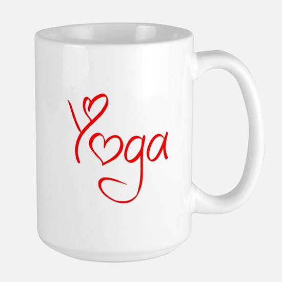 yoga-jel-red Mug