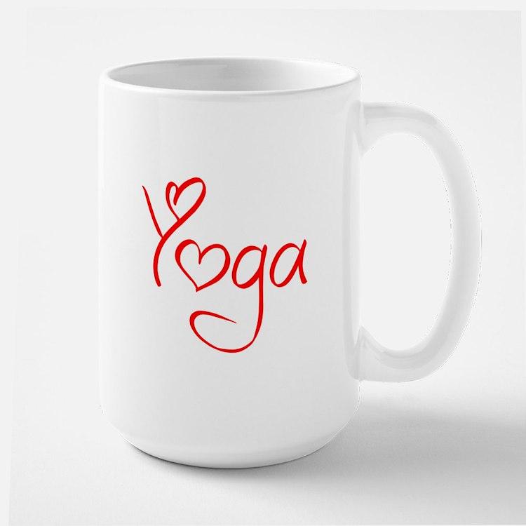 yoga-jel-red Mug
