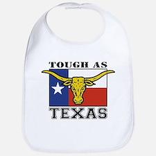 Tough as Texas Longhorn Bib